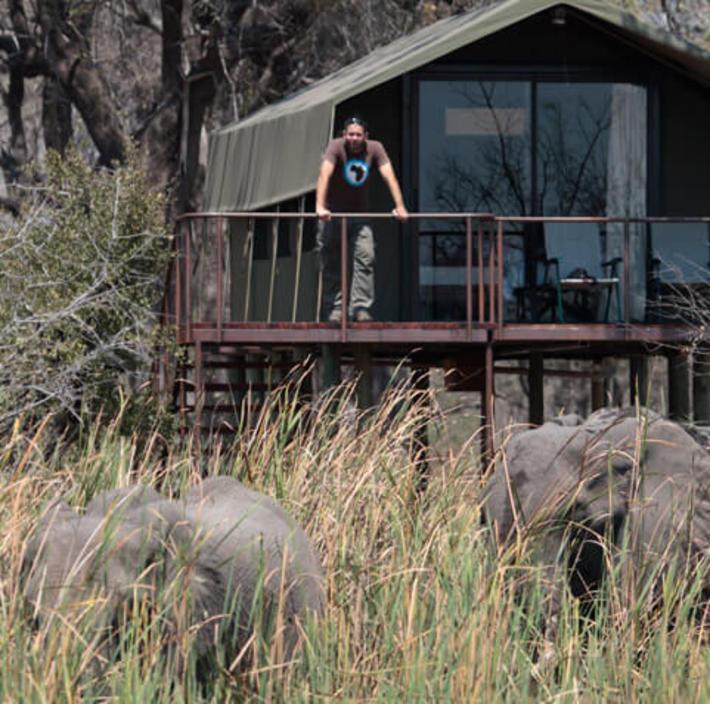 Nkasa Lupala Lodge. Photo: Nkasa Lupala Lodge
